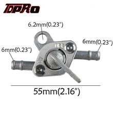 TDPRO Fuel Petrol Tank Switch Tap Petcock Gasoline Valve With Two Ends On/Off Switches For 50-150cc PIT Quad Dirt Bike ATV Buggy prison pit book two
