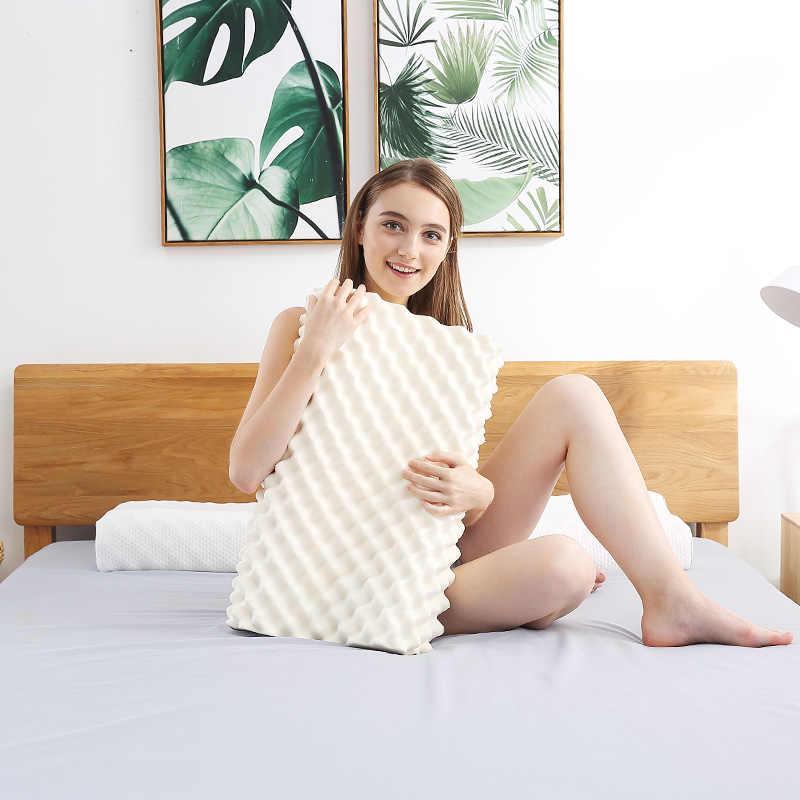 Noyoke Orthopedische Slapen Bed Kussen Cervicale Massage Natuurlijke Latex Release Druk Kussens Voor Woonkamer