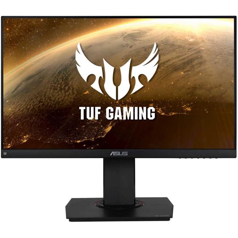 """Монитор игровой ASUS TUF Gaming VG249Q 3D 24"""" темно-серый"""