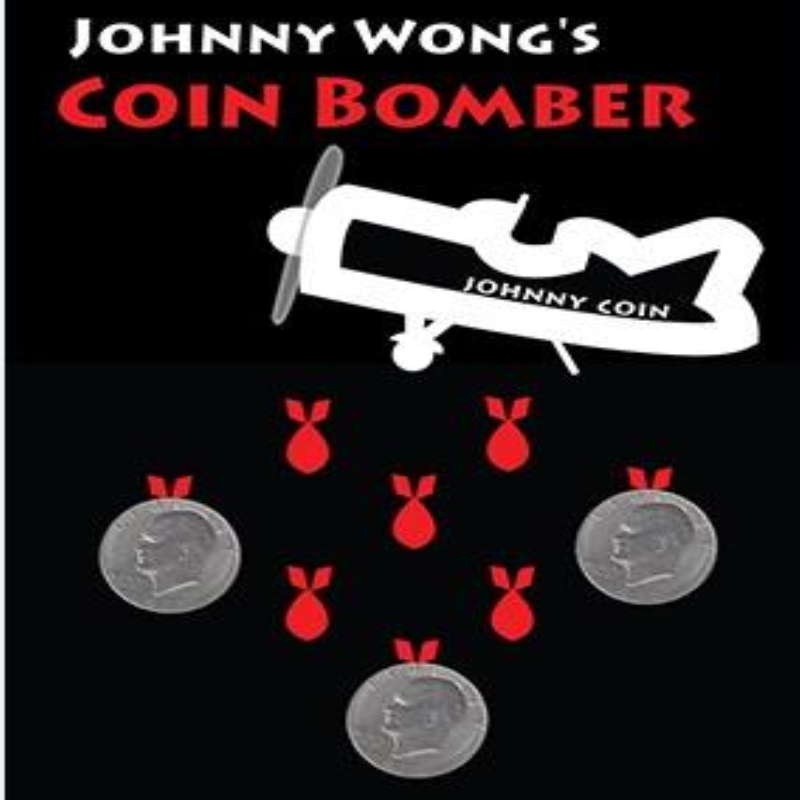 Coin Bomber (Morgan Coin) by Johnny Wong Coin Magic Tricks,Stage Magic,Close Up,Illusion,mentalism