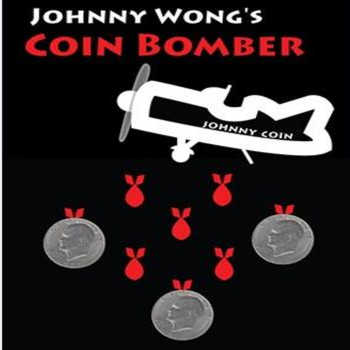 Coin Bomber (Morgan Coin) by Johnny Wong Coin Magic Tricks,Stage Magic,Close Up,Illusion,mentalism - DISCOUNT ITEM  16% OFF All Category