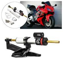 Moto Stabilizzatore Ammortizzatore di Sterzo Staffa di Montaggio Kit Per Honda CBR CBR600RR 600RR CBR 600 RR 2005 2006 Damper Supporto Kit