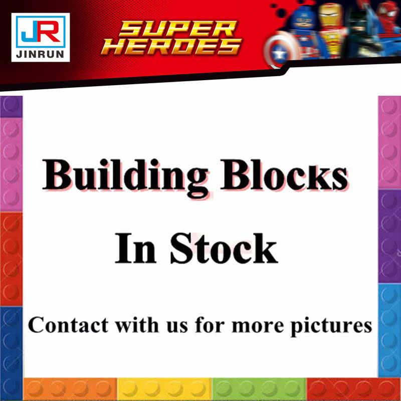 Avengers 4 Super Heroes Endgame iron man Capitan America Spider guerra Thanos Hulk Building Blocks Figure Giocattoli