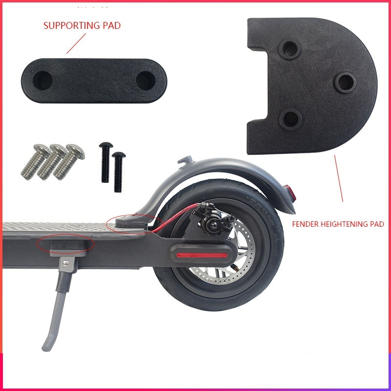 Rear Mudguard Spacer Kickstand Spacer For Xiaomi M365 Upgrade 3D Printed Modification For 10 Inch M365Pro Wheel Kit/Foot Support