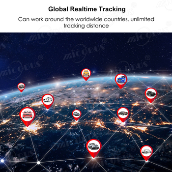 OBD GPS Tracker Car Tracker Micodus MV33 Realtime Tracking Voice Monitor Mini GPS Locator Shock&Plug-out Alarm Geofence Free APP 3