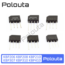 5 PCS Polouta Kbp310 Kbp206 Kbp208 Kbp210 Kbp307 Kbp410 Rectifier In-line Simistor Thyristor Supper Capacitor Protection Board