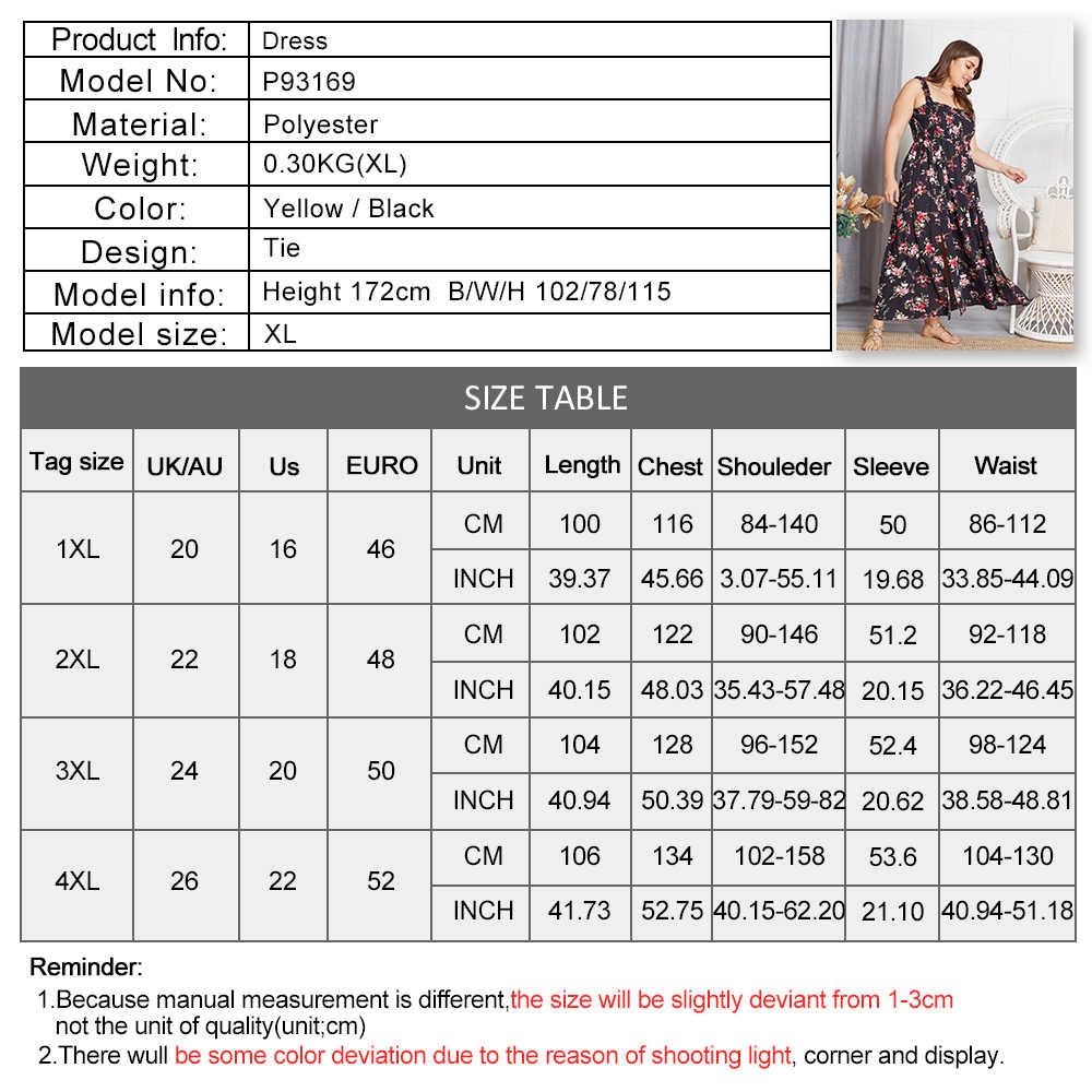 Thanh Lịch Plus Size Nữ Bohemian Hoa Gợi Cảm Quấn Ngực Mỏng Treo Áo Đi Biển ĐẦM MÙA HÈ 2020 Thời Trang Dài Đầm Dự Tiệc