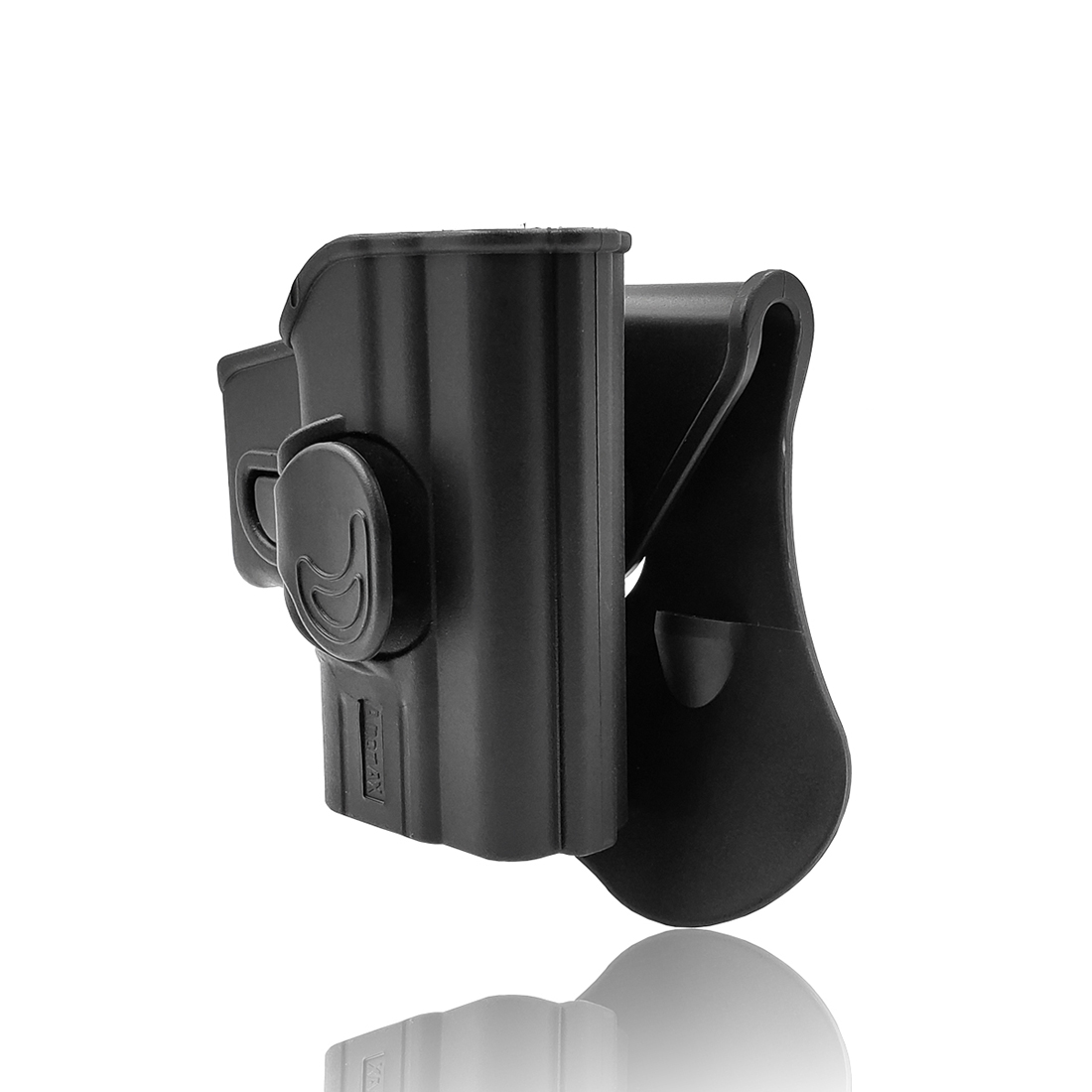 """NFSTRIKE Amomax Adjustable Tactical Holster For HS2000 (Springfield XD)/45ACP/ 9mm/SubCompact 3""""  9mm/Girsan MC28 - Right-Handed"""