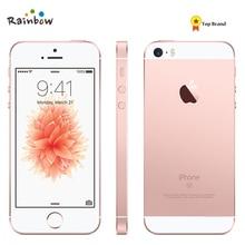 Разблокированный Apple iPhone SE 4 аппарат не привязан к оператору сотовой связи смартфон 2 Гб Оперативная память 16/64GB Встроенная память за счет сканера отпечатков пальцев мобильного телефона
