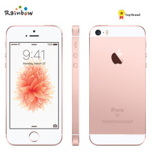 Original desbloqueado apple iphone se 4g lte smartphone 2gb ram 16/64gb rom toque id telefone móvel