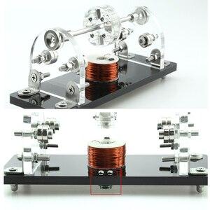 DIY Mini Hall Brushless Motor 5V 3000-6000Rpm 3 Point Magnetic Levitation High Speed Hall Sensor Drive Creative Motor for DIY(China)