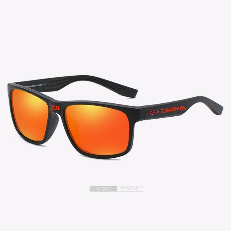 2021 Daiwa Fishing Glasses Outdoor Sport Fishing Sunglasses Men UV400 Glasses Cycling Climbing Sunglasses Polarized Glasses 888#