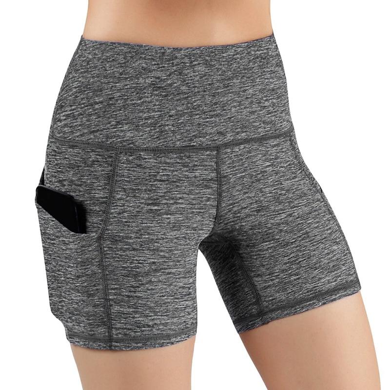 High Waist Leggings Women Workout Push Up Leggings Knee Length Pant With Pocket Fashion Bodybuilding Jeggings Leggings For Women
