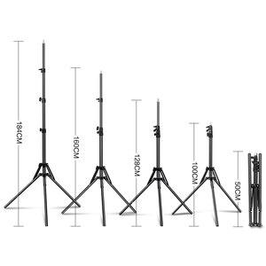 Image 3 - 72 дюйма/184 см фотография 1/4 винтовой складной штатив светильник кольсветильник света, рефлекторов, софтбоксов, зонтов, фона