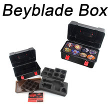 Toys For Children Portable Waterproof Box 8 In 1 Carrying Case For Beyblade Burst Spinning Top Kids Toys Brinquedos 2019 New(China)