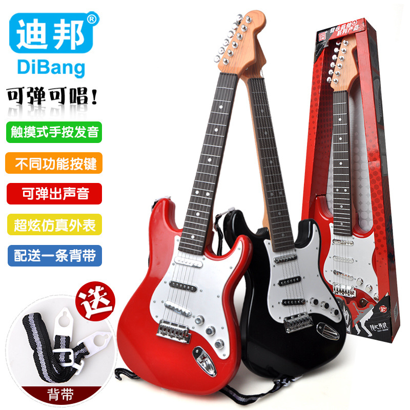 Dibang-10167 New Style Touch + Hand Flare Really Chord Guitar CHILDREN'S Electric Toys Model Music Toy