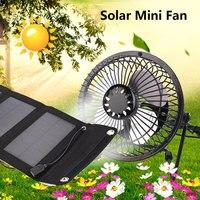 5W 6.5V Energy Solar Panel with Fan 5W 6.5V Solar Panel + Fan 5W 6.5V Cell Solar Panel +Fan Multifunctional Universal Foldable