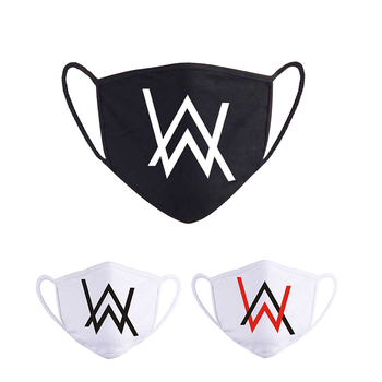 Reusable Cloth Face Mask Fashion Alan Walker Black Masque Adult Shield Dustproof Washable Men Women Kpop Protection Masks - discount item  30% OFF Mask