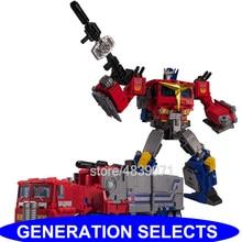Figuras de acción de juguete TKR, versión JPN, sin aleación, silenciosa, camión ligero, generación, selecciona la deformación del Comandante OP, transformación