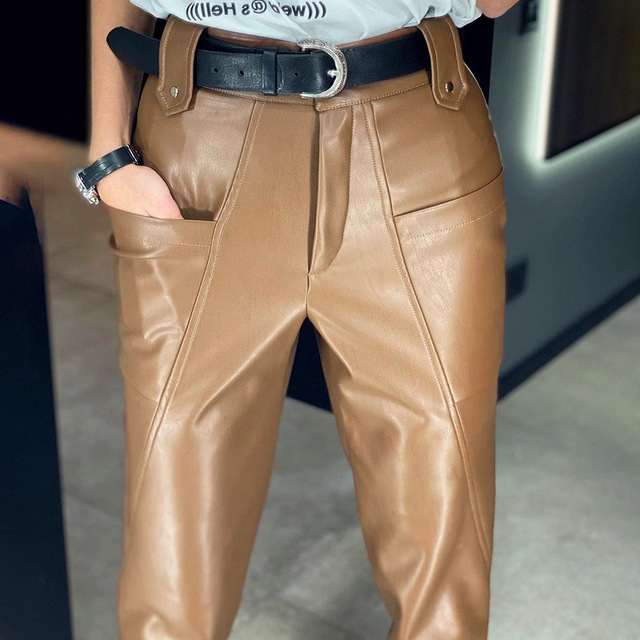 Ladies Leather Trousers 2