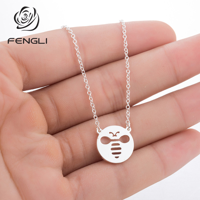 CUTE BABY DAISY DUCK ENAMEL Necklace Silver Plated chain Present in Gift Bag