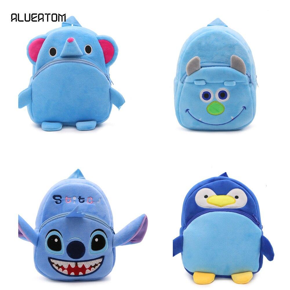 Cartoon Elephant Penguin Backpacks/ Kids Baby Bags Backpacks For Children/kid School Bags/Satchel For Boys And Girls Mochila