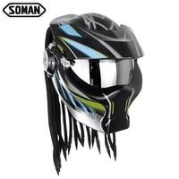 #125 motorcycle carbon fiber helmet FOR yamaha road star suzuki sv 650 zzr 250 DUCATI 1098 r1200gsprotecter moto accessories