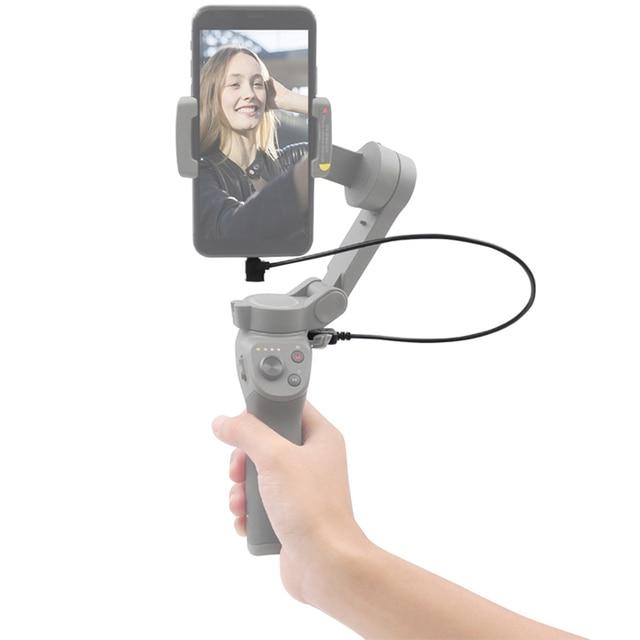 Cho DJI Osmo Mobile 3 Gimbal Ổn Định Sạc 35 Cm Khuỷu Tay USB Sạc Kết Nối Dây DJI Osmo Mobile phụ Kiện