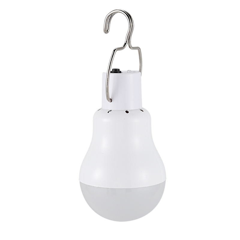 S-1200 15W 130LM Portable Led Bulb Light Charged Solar Energy Lamp (Color: White)