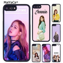 MaiYaCa Lisa Jisoo Jennie Rose BLACKPINK Phone Case For iPhone 5 6S 7 8 plus 11 Pro X XR XS Max Samsung Galaxy S6 S7 S8 S9 S10(China)