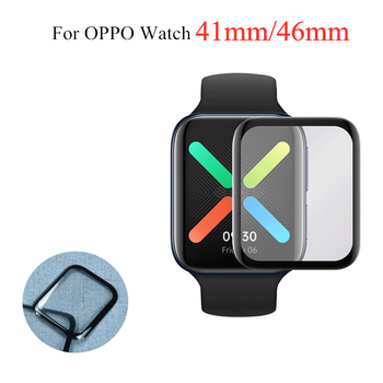 3D Full Screen Protector Film for Oppo Watch 41mm 46mm Smart Protection Soft Not Tempered Glass For OPPO - discount item  30% OFF Watches Accessories