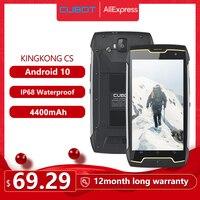 Cubot KingKong CS Android 10 IP68 Waterproof Smartphone 5 Inch 4400mAh Face ID Dual SIM Card Telephone Rugged Phone King Kong|Cellphones| |  -