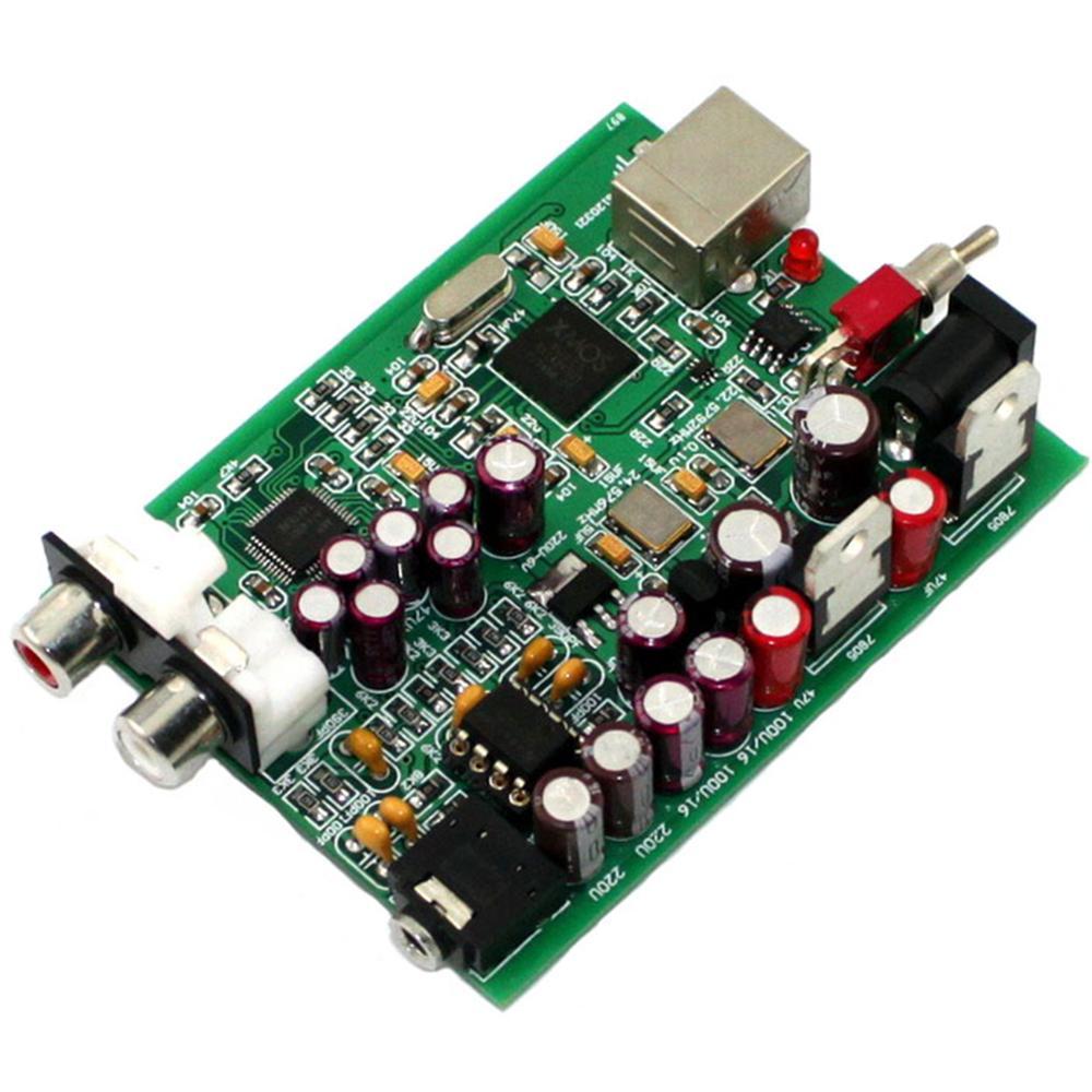 XMOS U8+AK4490 DC9V USB Decoder Board Support PCM: 16-32bit 44K 48K 88K 96K 176K 192kHz
