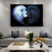 Настенная картина на холсте абстрактные плакаты и принты белого