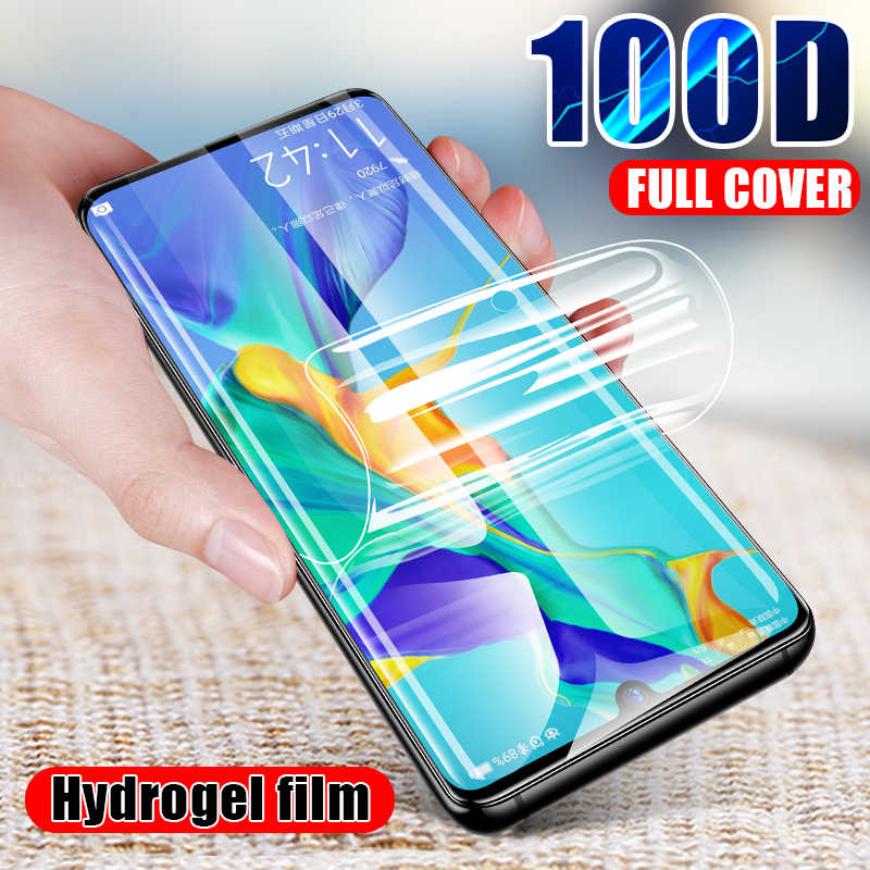 100D Hydrogel Film For Hauwei P20 P30 Mate 20 Lite  P smart 2019 Screen Protector For Hauwei P20 P30 Mate 20 Pro Film Not Glass