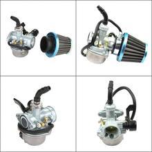 Universal 48mm 37mm ATV KARTS 2T 4T PWK Motorcycle Carburetor Carburador For Mikuni Koso ATV For Suzuki Yamaha Honda Power Jet недорого
