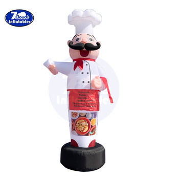 цена на 3m/4m Air Dancers Sky Dancer Inflatable cook Man Puppet Wind Flying Promotional Balloons Advertising Wave