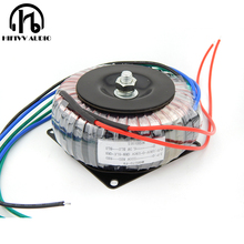 Transformador circular de cobre puro 75va da fonte de alimentação do ampère do tubo do amplificador 75 w 190v 0 190v 0.15a 0 6.3 v 3a do tubo