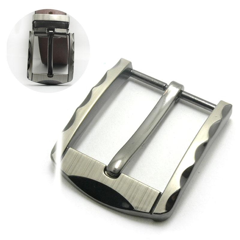 40mm Metal Tri Glide Belt Buckle Brand Middle Center Bar Men's Single Pin Buckle Leather Belt Bridle Halter Harness Adjustment