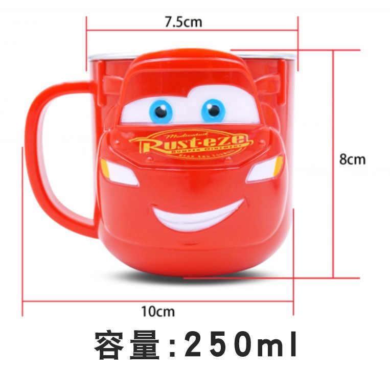 Мультяшная Милая чашка из нержавеющей стали с двойными стенками, чашка для кофе, чая, молока, бутылка для воды для путешествий, кружка для кофе, креативная детская Рождественская 50kB98
