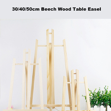 Table-Easel Wooden-Stand Painting-Craft Art-Supplies Party-Decoration for Artist Beech