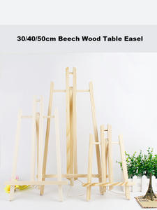 A4/A3 Beech Wood Table Easel For Artist Easel Painting Craft Wooden Stand For Party Decoration