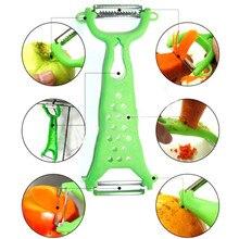 Практичные кухонные Инструменты гаджеты Помощник овощечистка фруктов нож для нарезания соломкой ломтерезка цвет случайный 17,5X6 см 1107