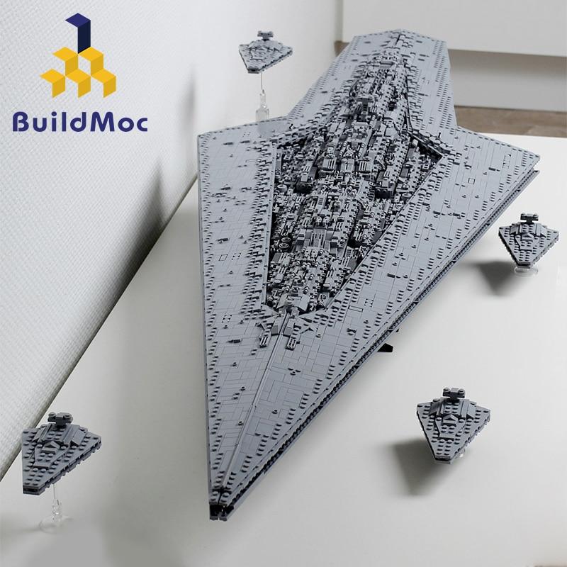 Construction Super Star Destroyer blocs Wars exécuteur classe étoile Dreadnought navire technique Star Wars 10221 10030 jouets cadeau briques