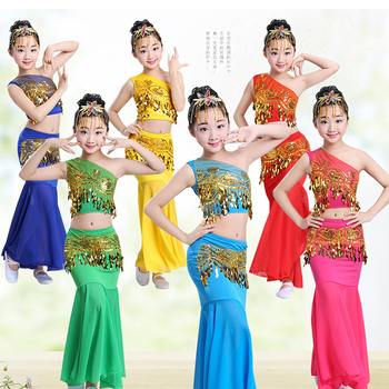 Belly Dance Children's Day Oriental Costumes