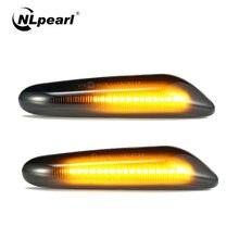 Npearl 2x автомобиль светильник в сборе динамического течет