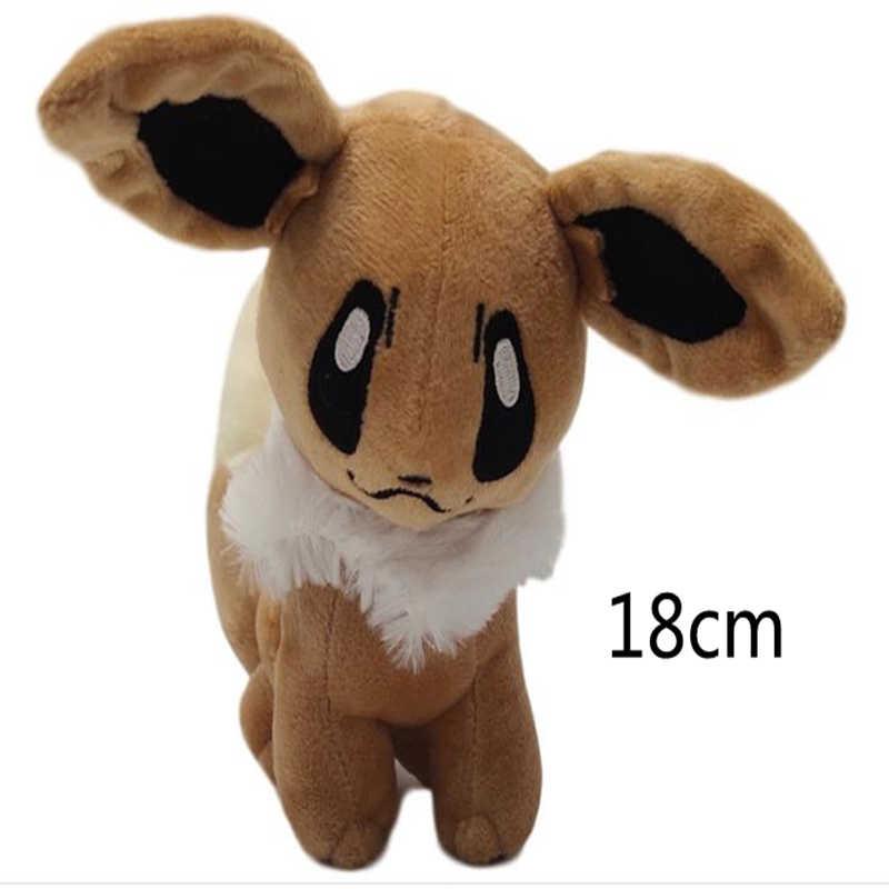Pikachued 18 centímetros Japonês Anime Novo Original Ibrahimovic Eevee Bichos de pelúcia Boneca de Brinquedo de Pelúcia