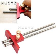 Blade-Tool Woodworking-Tool Wooden Scribe Adjustable European Double-Headed