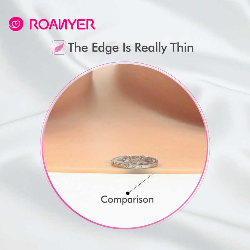 ROANYER מזויף ציצים מציאותי סיליקון צורות שד קרוסדרסינג דראג קווין קוקסינל Crossdresser טרנסג 'נדר C D E G H כוס