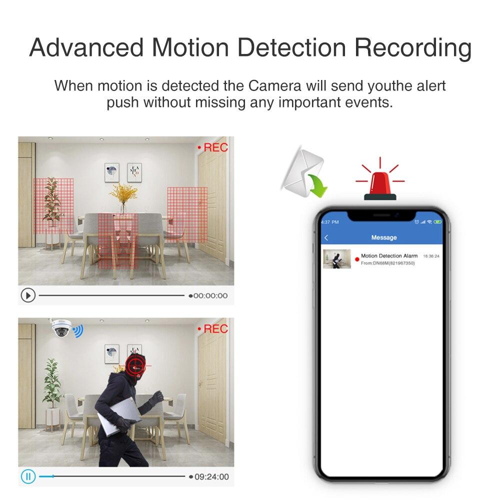 Techage 8CH 1080P Wireless NVR CCTV Überwachung Set Sicherheit IP Kamera System 2MP Wifi Audio Sound CCTV Dome Indoor kamera